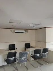 Wooden 3 Office Interior Decorator, Work Provided: Wood Work & Furniture