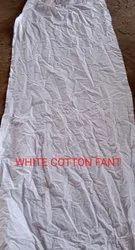 White Cotton Fant Waste Cloth