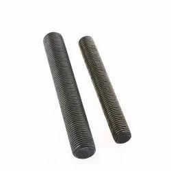 GI B7 Full Threaded Stud, For Hardware Fitting, Size: 4 Inch