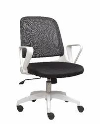 Executive Medium Back Chair - Twist White