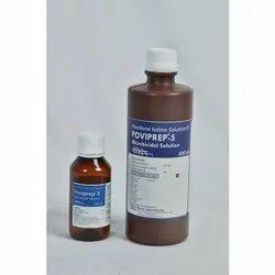 Microbicidal antiseptic solution