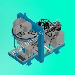 Rotary Fly Ash Bricks Making Machine