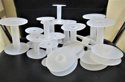 Plastic Spools For Wire Thread Tape Chains