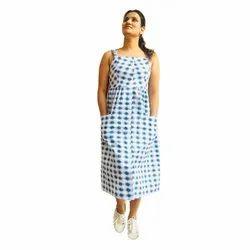 Casual Wear Blue Western Dresses