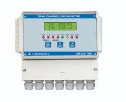 Weatherproof Dual Channel Gas Monitor