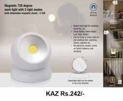 Magetic 720 Degree Work Light With 3 Light Modes