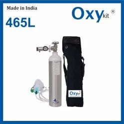 OxyKit Portable Medical Oxygen Cylinders (465 LITERS)