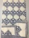 Jaipuri Block Print Double Bed Sheet With Two Pillow