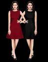 Cotton Indo Western Girls Designer Midi Dress Pack Of 2