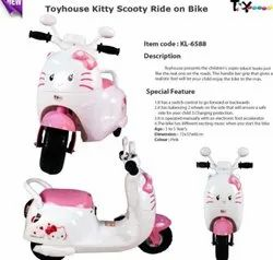 kids Battery Operated Toyhouse Scooty