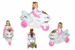 Manual Girls Police Bike Toy Multicolor Lowest Price