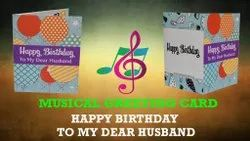Musical Voice modules, Singing Greeting Card Happy Birthday To You For Husband,Son, Friends,