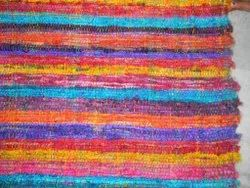 Conifer Multicolor Recycled Sari Silk Fabrics for Interior Designers, For Home Furnishing, GSM: 100