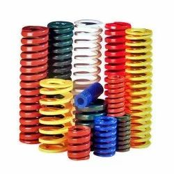 Round Wire Section Steel Die Spring, For Industrial