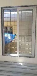 Rectangular French White Window Frame
