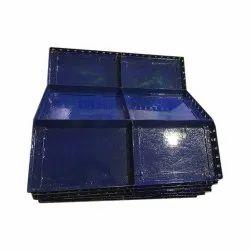 Mild Steel MS Bracket Shuttering Plate, Weight: 48 Kg