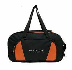 Handcuffs Travel Bottom Wheeled Folding Duffle Bag For Travel