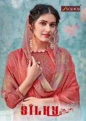 Roli Moli Silky Vol-2 Summer Cotton Salwar Suits Catalog