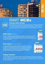 Double Pole INNO ONE Smart WiFi MCB 2Pole 63A
