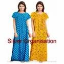 Printed Multicolor Women Gown
