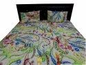 Cotton Quilted Bed Comferter With Two Pillow