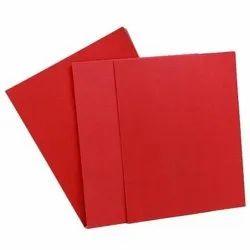 Red Fiber Sheets
