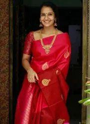 Present Soft Lichi Silk Saree