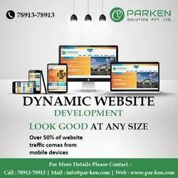 PHP/JavaScript Dynamic Website Designing Service