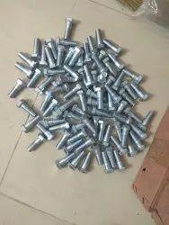 Boron Steel Farm Cultivator Supplier Rotavator Blade Nut Bolt, For Agriculture, Size: M14x1.5x40