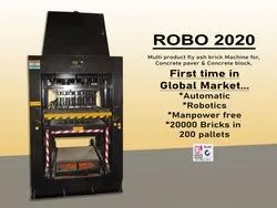 Automatic Fly Ash Brick Making Machine - ABM ROBO