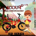 Scout Kids Series 20x1.75 (red) / Children Bicycle / Baby Bicycle.