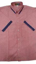 Ridha Cotton School Uniform Shirt, Size: Small