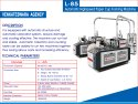 High Speed Paper Cup Making Machine With Auto Collector