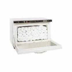 Seetex Plain White Face Towels, 250-350 GSM, Size: 75 X 20 Cm