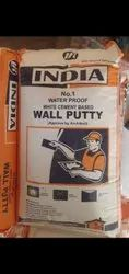 India Plaster White Wall Putty Powder, Packaging Type: PP Bag