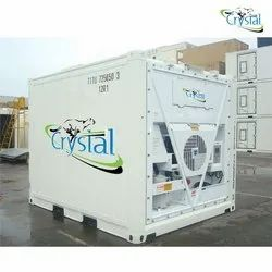 Crystal 10 Feet Brand New Reefer Container