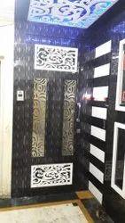 Home Wooden Safety Door, Size: 3 W X 6 H Feet