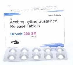 Acebrophylline Sustained Release Tablets 200 mg
