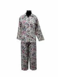 Women Screen Print Cotton Night Suit