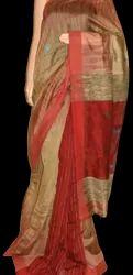 Formal Wear Banarasi Cotton Silk Saree