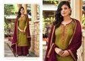 Kessi Safari Vol 3 Jam Silk With Embroidery Work Dress Material Catalog