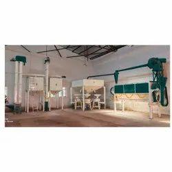 80 Ton Industrial Flour Mill Machine