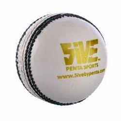 County White Cricket Ball