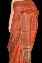 Fancy Banarasi Cotton Silk Saree