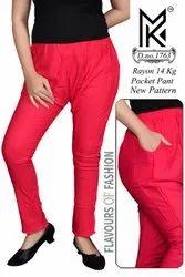 Ladies Pocket Pants