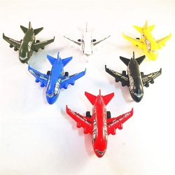 Plastic Mini Airplane Toy