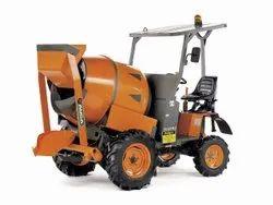 Diesel Engine 0.5 cum Self Loading Mobile Concrete Mixer, For Construction, Drum Capacity: 500 L