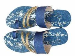 Casual Wear Designer Ladies PU Slippers, Size: 4-9