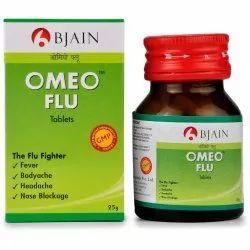 B Jain Omeo Flu Tablets, 25 G, Prescription
