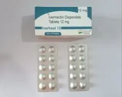 Iverheal-12 Ivermectin 12mg Tablets, 10 Tablets